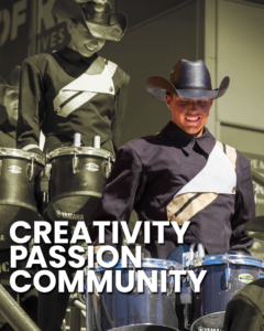 Creativity, Passion, and Community